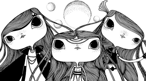 Juliana Fiorese Ilustração Valquírias