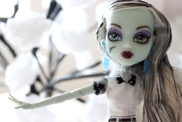 Monster High Frankie - Juliana Fiorese