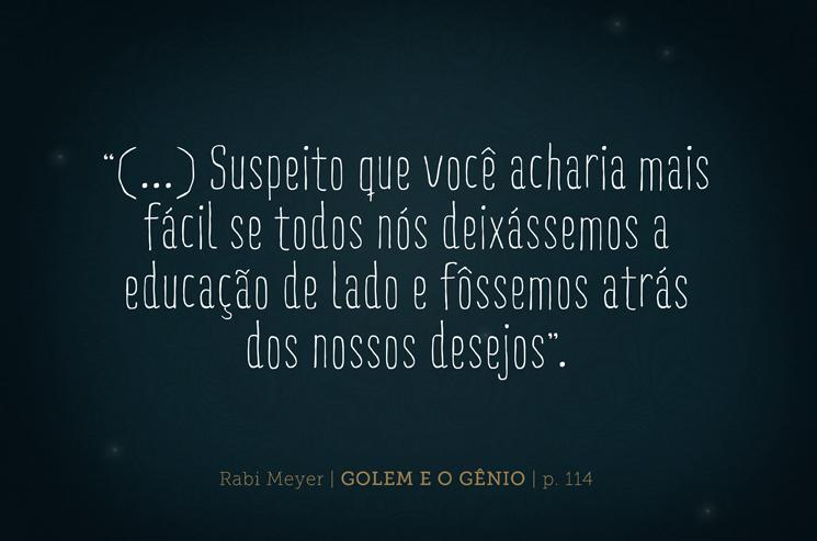 Golem e o gênio - Juliana Fiorese