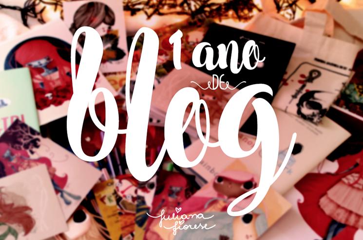 1 ano blog - Juliana Fiorese