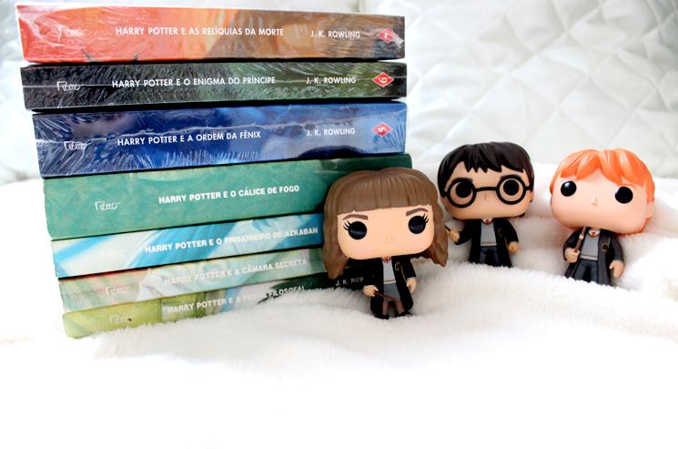 Lendo Harry Potter - Juliana Fiorese