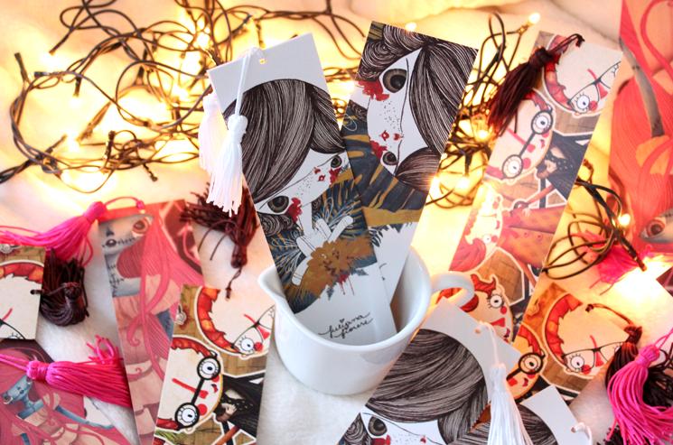 Marcadores de páginas - Juliana Fiorese
