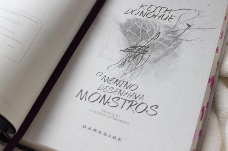 O menino que desenhava monstros - Juliana Fiorese